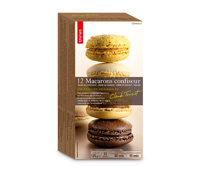 12 Macarons confiseur™ : la 2ème boite à - 70%