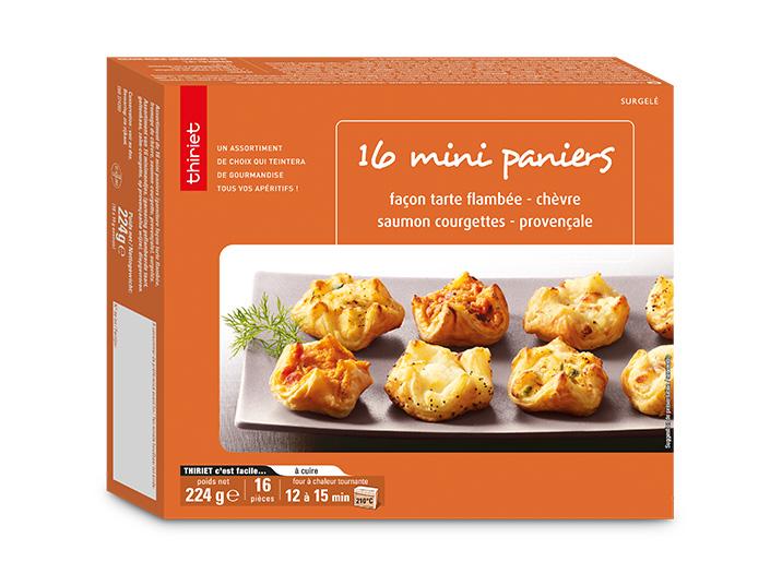 16 Mini paniers