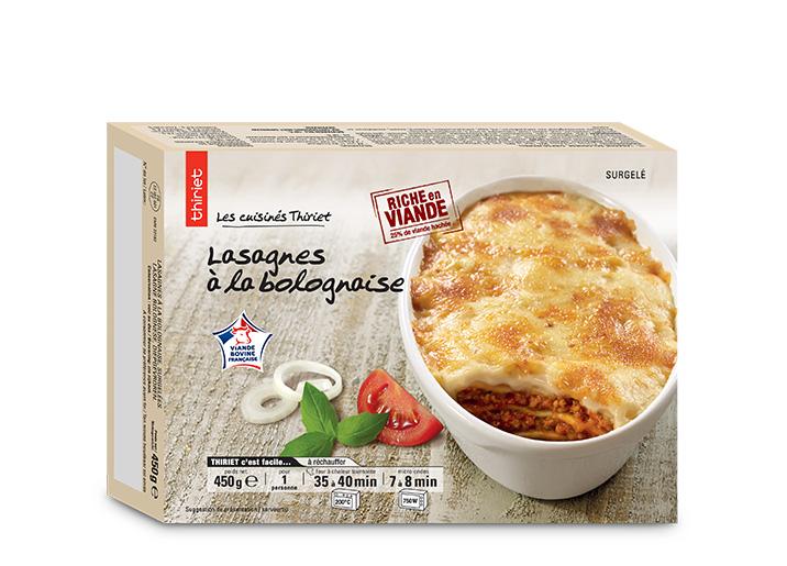 Lasagnes à la bolognaise