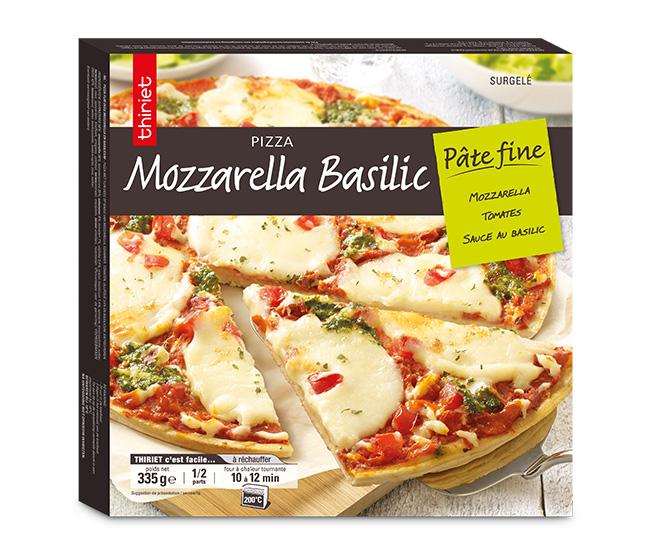 3 Pizzas pâte fine