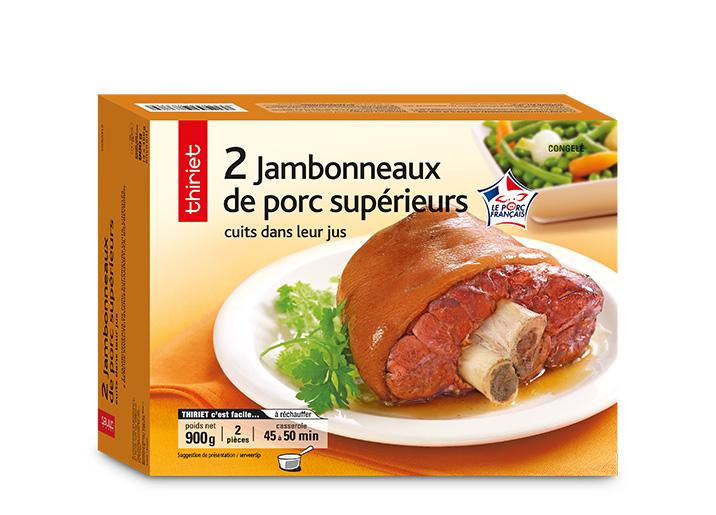 2 Jambonneaux porc supérieurs