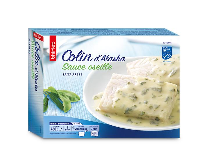 Colin d'Alaska sauce oseille