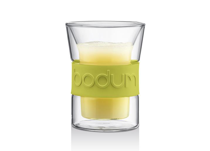 Set de 2 verres double paroi 0,2 L
