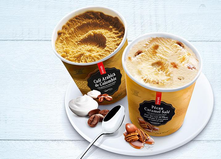 Pot Crème Glacée Café arabica de Colombie