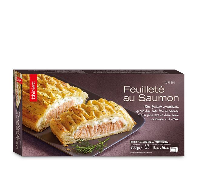 Feuilleté au saumon
