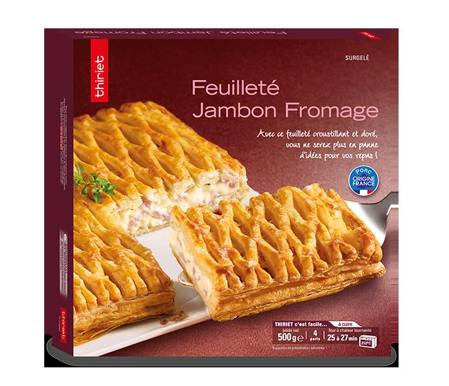 Feuilleté jambon/fromage