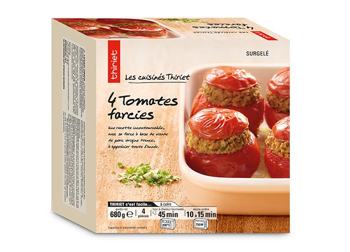 4 Tomates farcies