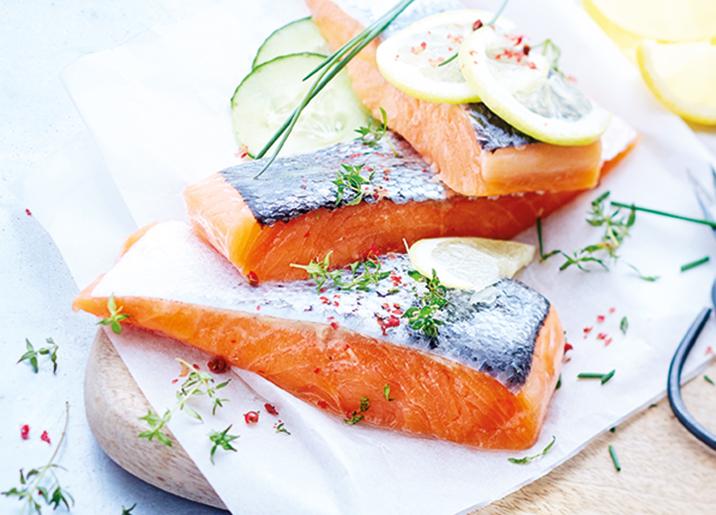 10 Pavés de saumon Atlantique