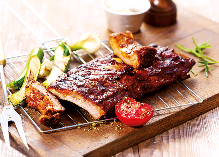 Ribs de porc BBQ