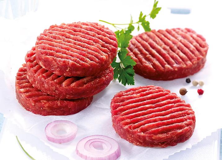 10 Mini steaks hachés pur boeuf 15% M.G.