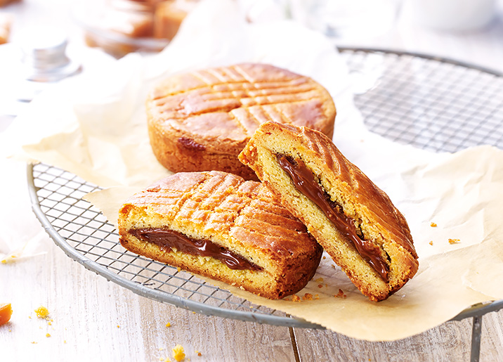 2 Gâteaux bretons au caramel au beurre salé