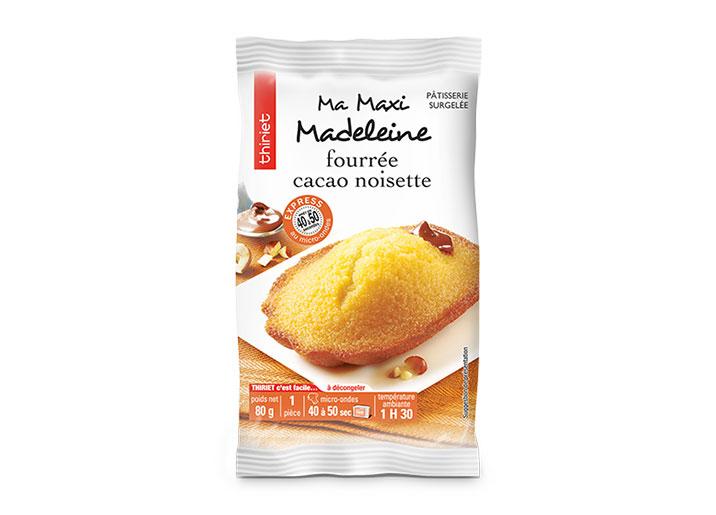 1 Maxi madeleine fourrée cacao noisette