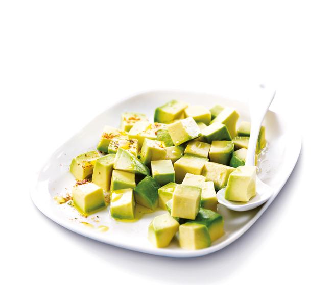 Avocats en morceaux