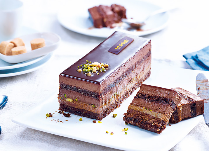 Délice du pâtissier chocolat/caramel