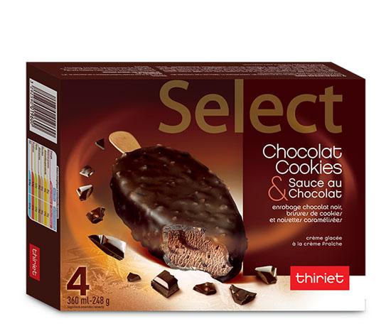4 Select™ Chocolat cookies