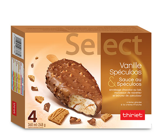 4 Select™ Vanille spéculoos