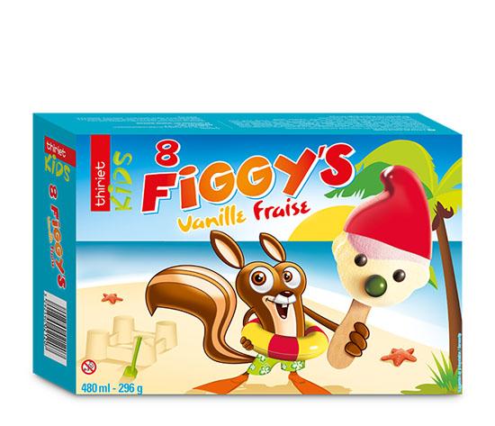 8 Figgy's™ Vanille/Fraise