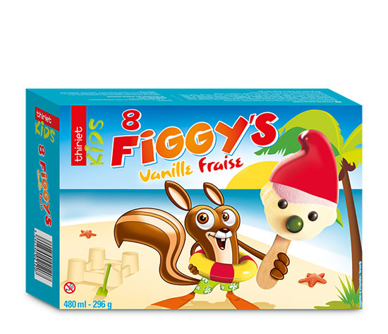 Lot de 2 x 8 figgy's