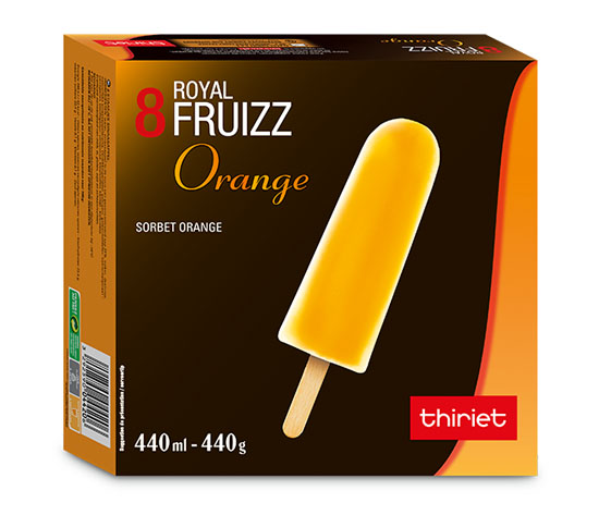 8 Royal™ Fruizz Orange