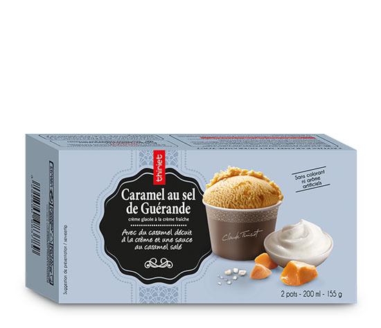 2 Pots individuels Caramel au sel de Guérande
