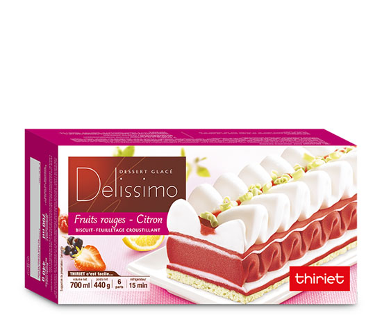 Delissimo™ fruits rouges citron
