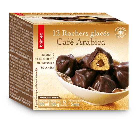 12 Rochers glacés café arabica