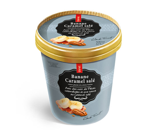 Pot Crème Glacée Banane Caramel salé