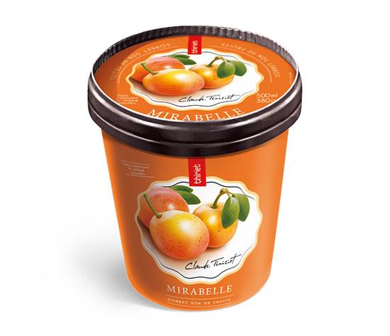 Pot Sorbet Plein Fruit Mirabelle de Lorraine