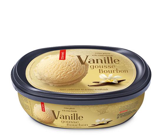 Crème glacée vanille gousse Bourbon