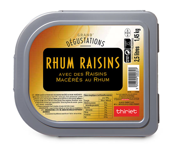 Grand'Dégustations™ Maxi Rhum Raisins