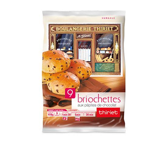 18 Briochettes pur beurre au choix !