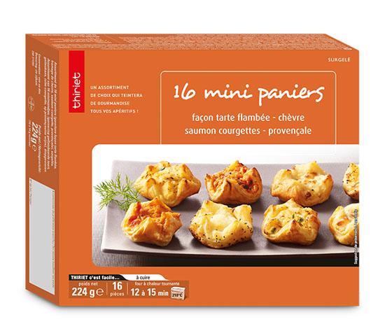32 Mini paniers