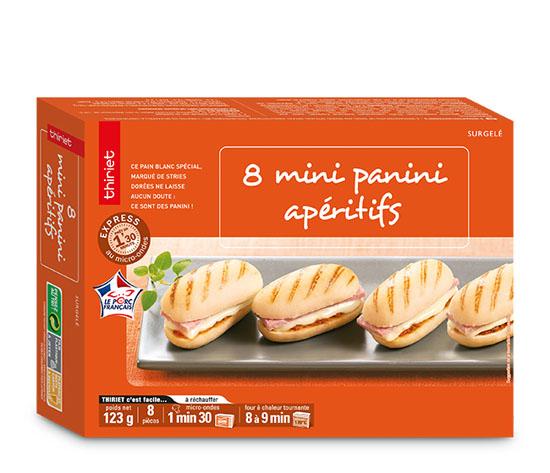 8 Mini panini apéritifs