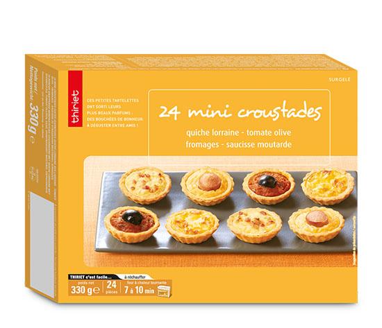 24 Mini croustades