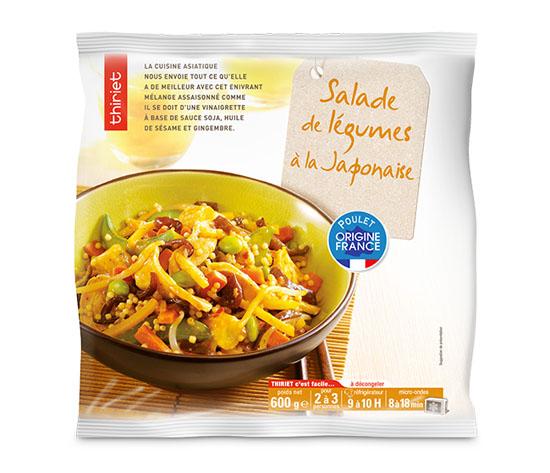 Salade de légumes à la japonaise