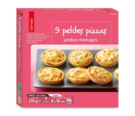 18 petites pizzas au choix !