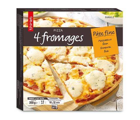 Pizza pâte fine : la 2ème au choix à -50% !
