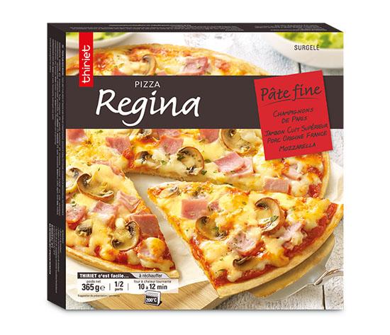 Les 3 pizzas pâte fine au choix !