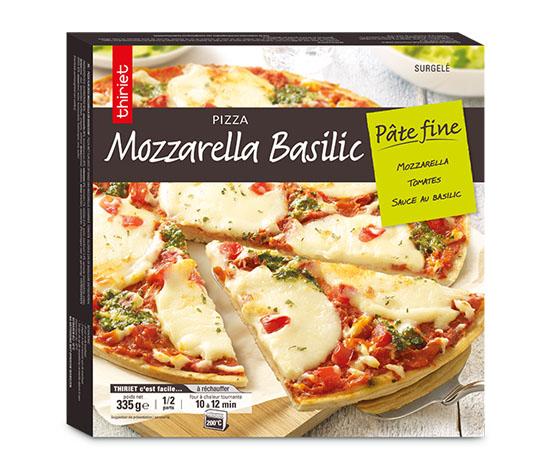 2 pizzas pâte fine au choix !