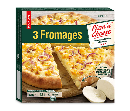 Les 2 Pizza'n cheese™ 3 fromages