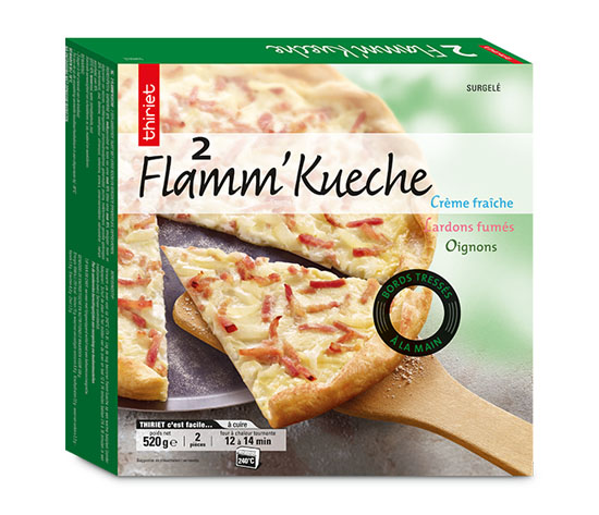 Lot de 2 x 2 Flamm'Kueche