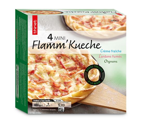 4 Mini Flamm'Kueche