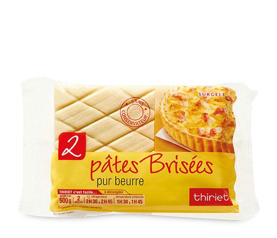 2 Pâtes brisées pur beurre