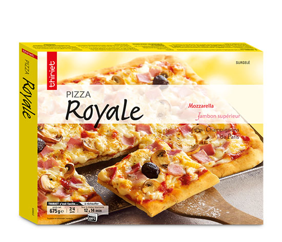 Lot de 2 x 1 pizza familiale au choix