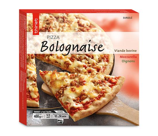 Pizza 400g : la 2ème à -50% !