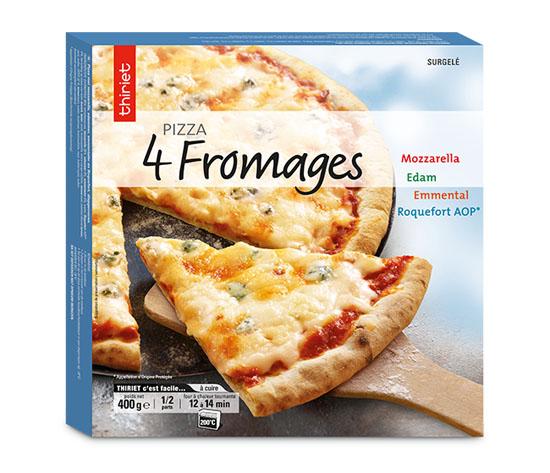 Pizza cuite sur pierre au choix : la 2ème à -50% !