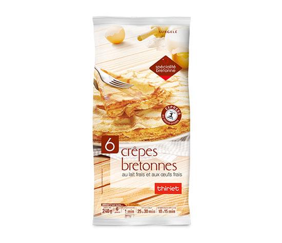 6 Crêpes bretonnes