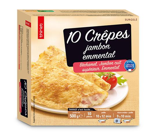 10 Crêpes jambon/emmental