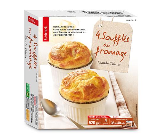 4 Soufflés au fromage