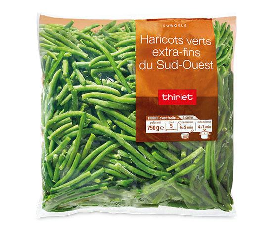 Haricots verts extra-fins du Sud-Ouest